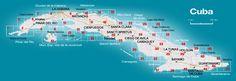 CubaMappa : Guia de carreteras de Cuba, Road Map of Cuba & Map of Habana, Rent a Car in Cuba
