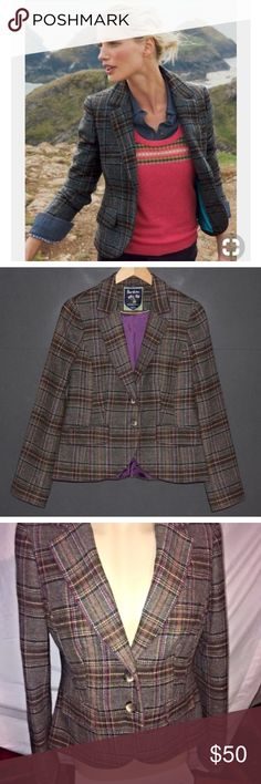 ISO - Boden tweed Blazer size US 10 Looking for this blazer in good or better condition for a reasonable Posh price. This pattern only- TIA! Boden Jackets & Coats Blazers