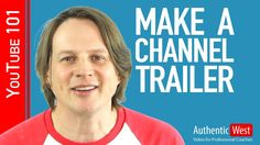 How to create a YouTube Channel Trailer - WATCH VIDEO here -> http://makeextramoneyonline.org/how-to-create-a-youtube-channel-trailer/ -    What makes a great YouTube channel trailer? CHECK OUT THE 2016 UPDATE TO THIS VIDEO: And for MOBILE users:  Does your YouTube channel have a trailer? YouTube channel trailers are important for letting new users know what they should expect and why they should subscribe. In this tutorial, I'm g...
