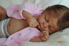 Reborn Ethnic AA Baby Girl was Andi by Linda Murray