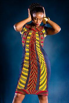 African Kitenge design pictures ~African fashion, Ankara, kitenge, African women dresses, African prints, Braids, Nigerian wedding, Ghanaian fashion, African wedding ~DKK