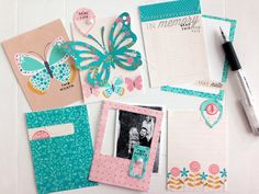 Journaling Cards by Danielle Flanders for Papertrey Ink (May 2014)