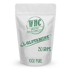 L-Glutamine Powder 250g (50 Servings)   Boosts Immune System   Reduces Recovery Time   Builds Lean Muscle   Promotes Intestinal Nutrition