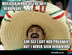 Mexican word of the day - herbivore