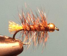 Beadhead Mini Woolly Bugger - Andy Satanek