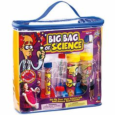 Big Bag of Science - Ages 8 to 12 years
