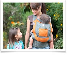 The Onya Baby Outback award-winning baby carrier