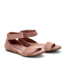 mytheresa.com - Pedro Garcia - TIRZA SUEDE SANDALS - Luxury Fashion for Women / Designer clothing, shoes, bags ($200-500) - Svpply