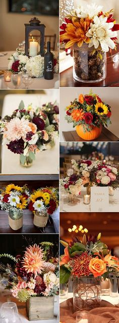 There are a number of different kinds of centerpieces you may use for your wedding. Other centerpieces are somewhat more elaborate and are composed of...