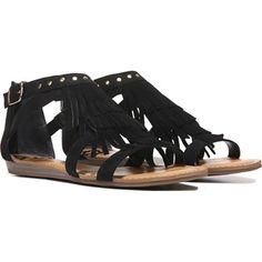 FERGALICIOUS Women's Dusty Fringe Sandal at Famous Footwear