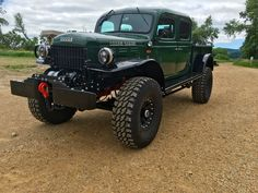 1947 Dodge Power Wagon double cab.