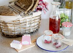 A Bastille Day Picnic with Free Printables and a Giveaway Inspired by The Little Paris Kitchen