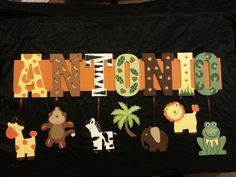 9 LETTER Any theme Custom Name Sign by AlbonsBoutique on Etsy, $72.00