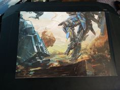 Xenoblade Chronicles X Special Edition back of artbook