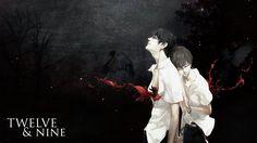 Wallpaper: Zankyou no Terror - TWELVE AND NINE. by Kirbytch on deviantART