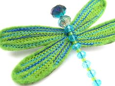 dragonfly brooch by meninafeliz | notonthehighstreet.com