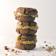 German Chocolate cake cookies! also see http://allrecipes.com/recipe/german-chocolate-cake-cookies/