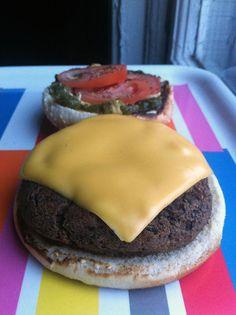 Recette de Burger aux fèves noires selon Bob le Chef - L'Anarchie Culinaire