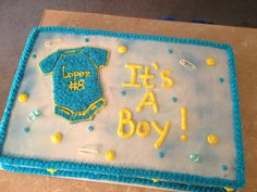 It's a Boy baby shower cake for one if my best friends!