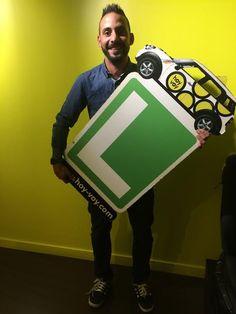 DAVID COTA!!! #hoyvoy #autoescuela #barcelona