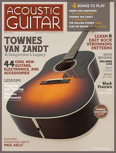 Acoustic Guitar, Issue No. Acoustic Guitar Magazine, Townes Van Zandt, Dream Music, Visual And Performing Arts, Guitar Accessories, Rolling Stones, Music Instruments, Songs, Cool Stuff