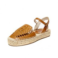 Soludos Vachetta Leather Huarache Sandal - Soludos Espadrilles
