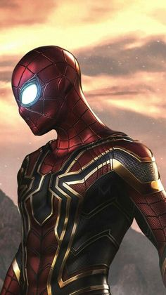 Artwork, iron-spider, iron-man, fan made art, wallpaper - Avengers: Endgame Marvel Dc Comics, Marvel Avengers, Marvel Fanart, Marvel Heroes, Amazing Spiderman, Spiderman Art, Iron Man Spiderman, Venom Spiderman, Spiderman Suits
