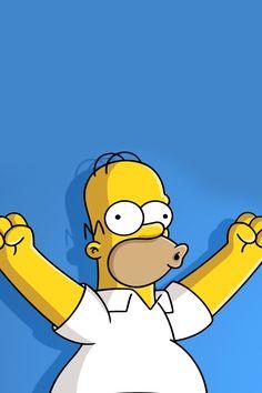 Wallpaper of Homer Wallpaper for fans of The Simpsons. Simpsons Episodes, The Simpsons Movie, Simpsons Art, Homer Simpson, Simpson Wallpaper Iphone, Cartoon Wallpaper, Michael Jordan Pictures, Flash Animation, Cartoon Pics