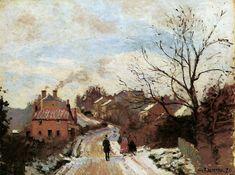 Lower Norwood - Camille Pissarro 1871 Thời kì chiến tranh Franco - Prusso Pissarro đến London và cùng làm việc với Monet, chịu ảnh hưởng lớn của Monet.