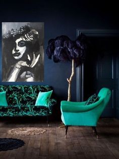 Black And White Artwork, Black And White Posters, Black White, Gifts For Art Lovers, Abstract Portrait, Large Canvas Wall Art, Woman Painting, Lounge, New Home Gifts