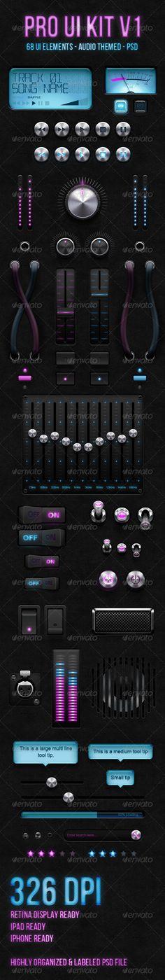 Audio Pro UI Kit V1