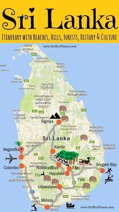 Sri Lanka itinerary – Explore Sri Lanka in a Month (or so). This itinerary abo. - Sri Lanka itinerary – Explore Sri Lanka in a Month (or so). This itinerary about Sri Lanka has a - Cool Places To Visit, Places To Travel, Travel Destinations, Le Sri Lanka, Sri Lanka Itinerary, Bon Plan Voyage, Equador, Voyage Europe, Explorer