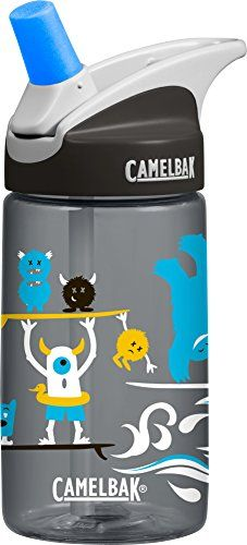CamelBak Kids Eddy Water Bottle Surf Monsters 04 L ** Check this awesome product by going to the link at the image.(This is an Amazon affiliate link and I receive a commission for the sales)