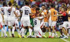 A COSTA RICA SURPREENDE E VENCE O URUGUAI NA COPA DO BRASIL 2014 - MEGA SPORTS PRESS™