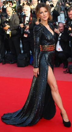 Kate Beckinsale in Balmain at the 2010 Cannes Film Festival