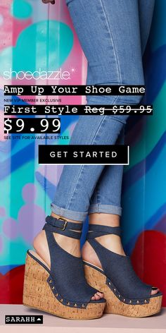 Get VIP ACCESS to the most sought-after online shoes, boots, handbags and clothing for women, handpicked for you based on your personal fashion preferences. Beautiful Sandals, Cute Sandals, Cute Shoes, Wedge Sandals, Wedge Shoes, Me Too Shoes, Shoes Heels, Sock Shoes, Shoe Boots