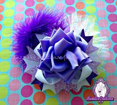 New rose bow from #kassiascreations