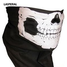 >> Click to Buy << LASPERAL Hot Sale 1PCS Woman Men Scary Vivid Skeleton Skull Mask Motorcycle Bicycle Winter Riding Warm Windproof Scarves Novelty #Affiliate