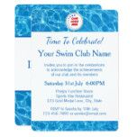 Swimming Club Blue Pool Water Awards Invitation #weddinginspiration #wedding #weddinginvitions #weddingideas #bride