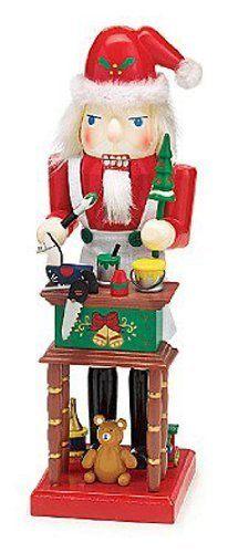 Toy Maker Santa Claus Holiday Christmas Nutcracker Figurine Gift by Burton &… Christmas In Germany, Christmas Time Is Here, Christmas Love, Christmas Themes, Christmas Holidays, Christmas Crafts, Christmas Decorations, Xmas, Holiday Ideas