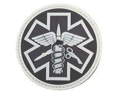 """3"""" Tactical Paramedic PVC Patch"""