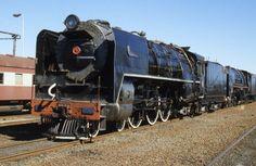 SAR Class 16E 858 (4-6-2) - SOUTH AFRICA