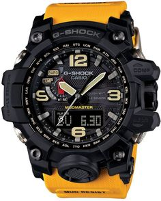 Shop men's and women's digital watches from G-SHOCK. G-SHOCK blends bold style with the most durable digital and analog-digital watches in the industry. Casio G-shock, Casio Watch, Casio G Shock Watches, Timex Watches, Sport Watches, Men's Watches, New G Shock, G Shock Mudmaster, Amazing Watches