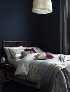Eastern style bedroom (John Lewis)
