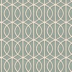 GATE - DWELL STUDIO FABRICS - JADE - for the bedroom shams and curtains