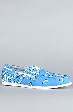 new style 7b3af b033d The Bandana Dock Sneaker in Blue by Study Dock Shoes, Don t Worry,