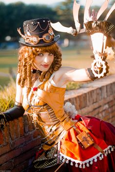 Arsenicinhell: Lady Octavia - Sylvain Leobon Model Gabriella Orefice (Mogu Cosplay) #Steampunk