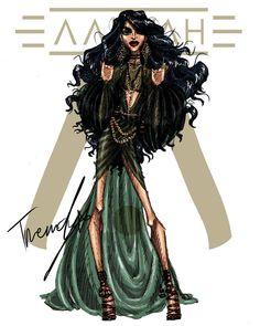 Aaliyah 2018 .4 by TRENDY #aaliyah #aaliyahdanahaughton #aaliyahhaughton #babygirl #TRENDY #2018 #illustration #art