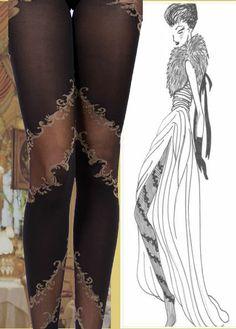 HELENA Baroque, Stockings, Age, Embroidery, Style, Fashion, Socks, Moda, Needlepoint