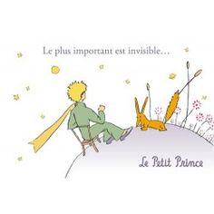 Carte postale Le Petit Prince - Le plus important est invisible… 1